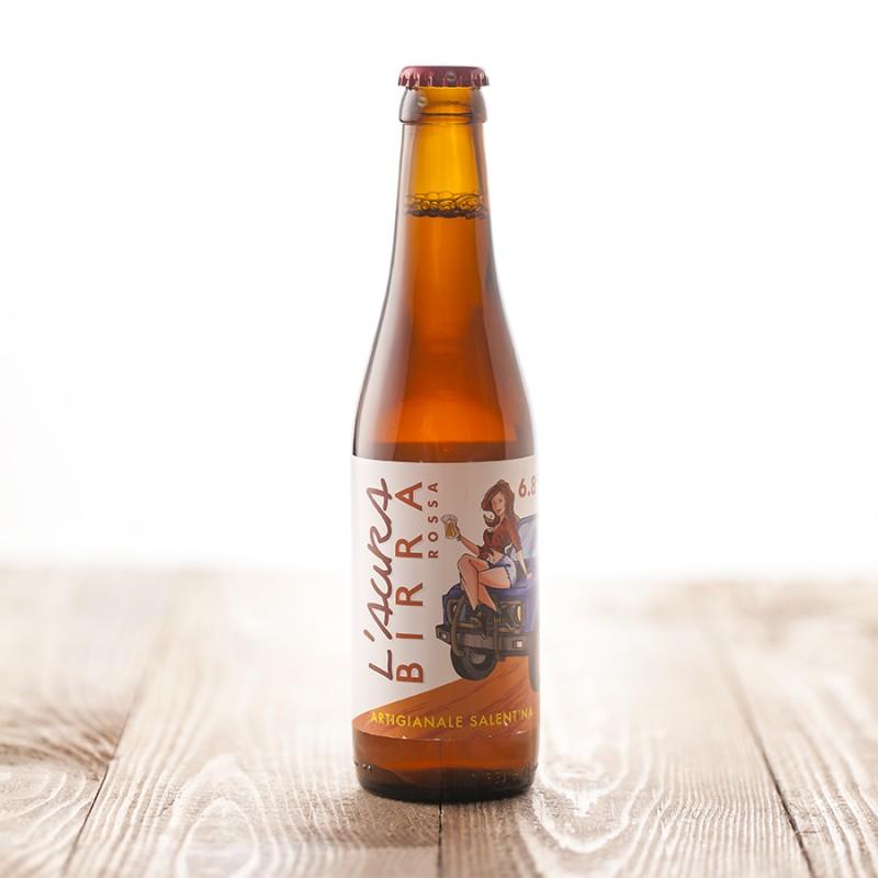 l'aura birra rossa doppio malto